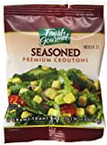 Fresh Gourmet Cube Seasoned Croutons, 0.25 Ounce (Pack of 250)