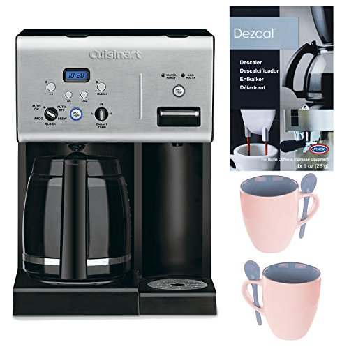 Cuisinart CHW-12 12-cup Programmable Coffee Maker Good Morning Bundle (Cuisinart Dcc 3000 Coffee Filter compare prices)
