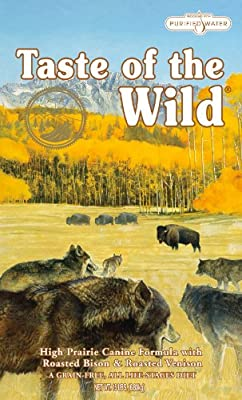 Taste of the Wild Dry Dog Food, Hi Prairie Canine Formula with Roasted Bison & Venison, 30-Pound Bag by Taste of the Wild