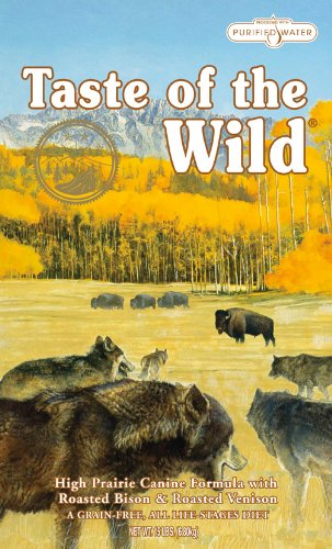 Taste Of The Wild High Prairie with Roasted Venison and Bison Dog Food 13.6 Kg