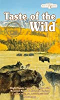 Taste of the Wild Dry Dog Food, Hi Prairie Canine Formula with Roasted Bison & Venison, 30-Pound Bag