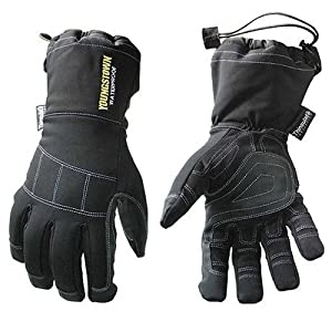Youngstown Glove Co. 05-3430-80-XL Waterproof Gauntlet XT Performance Glove XLarge, Black