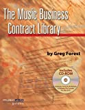 The Music Business Contract Library - Music Pro Guides Bk+CD