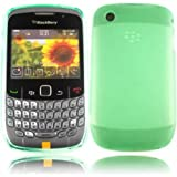 Gel Case Cover Shell For Blackberry 8520 8530 9300 3G Curve / Green Design