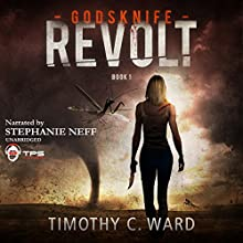 Revolt: Godsknife, Book 1 Audiobook by Timothy C. Ward Narrated by Stephanie Neff