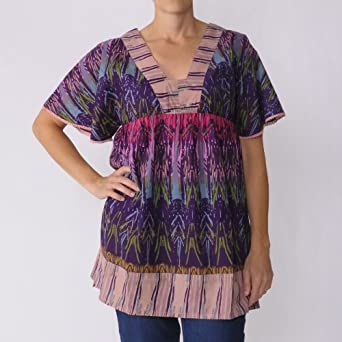 Funky People Women's V-Neck Tunic