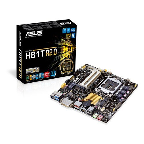 Asus Mini ITX DDR3 1066 LGA 1150 Motherboards H81T R2.0/CSM (Asus Portable Aio compare prices)