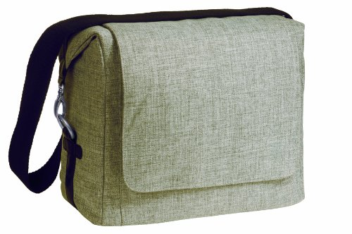 Lassig Green Label Small Messenger Diaper Bag, Choco Melange - 1
