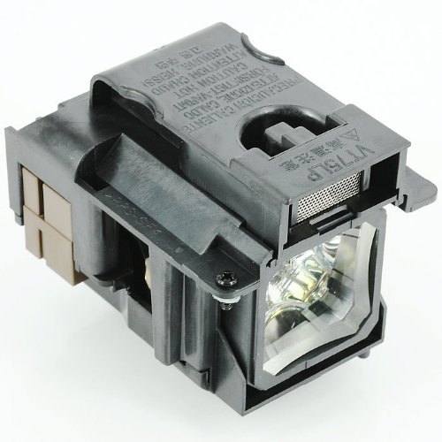 Awo-Lamps VT75LP Replacement Bulb/Lamp with Protection for NEC LT280 LT380 VT470 VT670 VT676 LT375 VT675 Projectors 150 Day Pledge