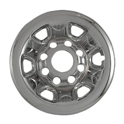 "Bully Imposter IMP-62X, Chevrolet, 16"" Dark Grey Replica Wheel Cover, (Set of 4)"