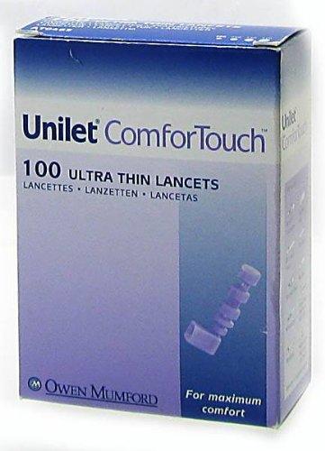Unilet ComforTouch 28G - Box of 100