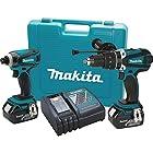 Makita XT218M 18V LXT Lithium-Ion Cordless Combo Kit, 2-Piece