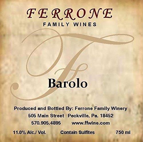 Nv Ferrone Family Winery Barolo Red Blend 750 Ml