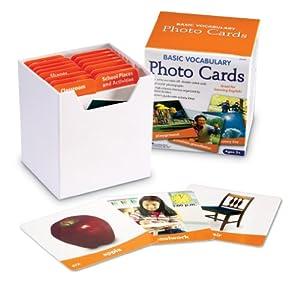Basic Vocabulary Photo Card Set