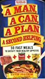 51eiW5quKNL. SL160  A Man, A Can, A Plan, A Second Helping: 50 Fast Meals to Satisfy Your Healthy Appetite