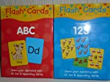 2 x PACKS OF FLASH CARDS ~ 1 x Pack of A B C + 1 x Pack 123