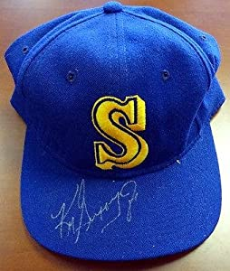 Ken Griffey, Jr. Autographed Signed Seattle Mariners Hat #V56354 - PSA DNA Certified... by Sports Memorabilia