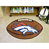 Denver Broncos NFL &quot;Football&quot; Floor Mat (22&quot;x35&quot;)