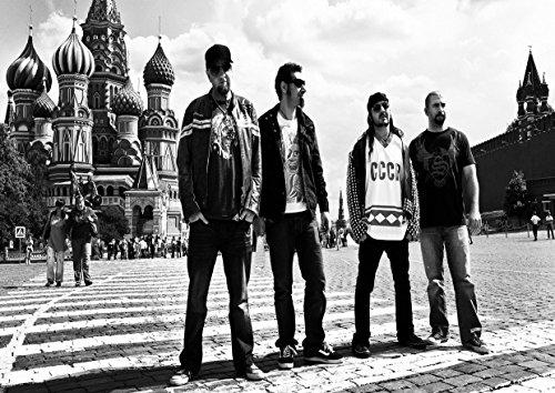 "System of a Down, 9 Serj Tankian Daron Vartan Malakian Shavo Odadjian John Paul Dolmayan Gary Holt Bostaph grande, in metallo, motivo: Rock Music Band-Album per foto, formato A4, unico Print Poster """