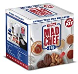 Mad Chef BBQ Sauce DIY Kit - CHRISTMAS GIFT BONUS BOX - Makes Up To 14 Legendary Cups of an Unlimited Variety of Your Very Own Secret BBQ Sauce - Create Your Own Gourmet BBQ Sauce