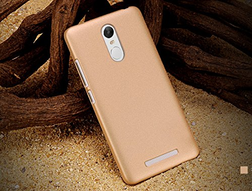 6950257879 36% OFF on SDO? Rubberised Matte Finish Slim Hard Case Back Cover for  Xiaomi Redmi Note 3 (Champagne Gold) on Amazon | PaisaWapas.com