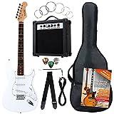 Rocktile Banger's Pack Komplettset E-Gitarre Weiß...