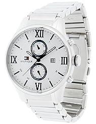 Tommy Hilfiger Analog White Dial Men's Watch - TH1710289J
