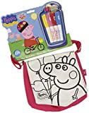 Color Me Mine - Bolso bandolera mini con dise�o Peppa Pig (Cife 86078)