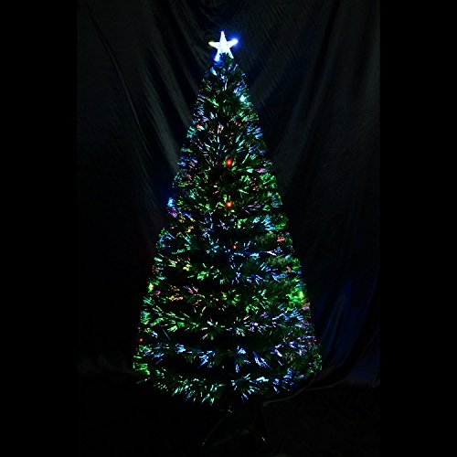 6-artificial-fiber-optic-w-led-lights-holiday-lighted-christmas-tree