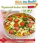 Vegetarisch kochen Rezeptkartenkalend...