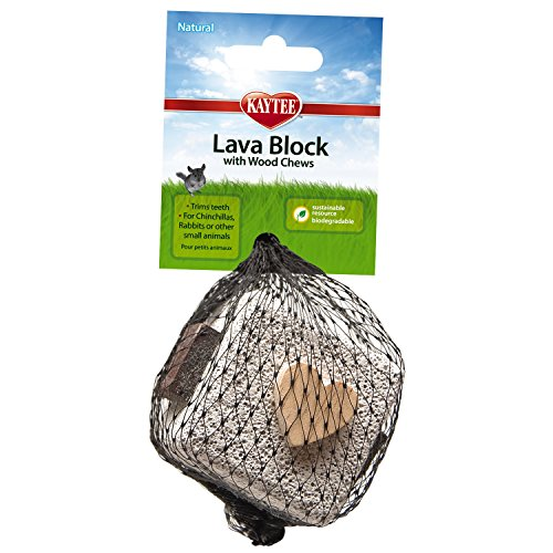 Kaytee Lava Block with Wood Chews (Wood Chews compare prices)