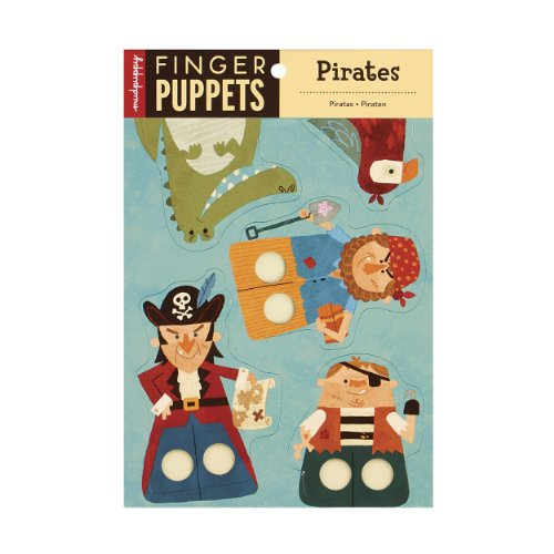 Mudpuppy Pirates Finger Puppets
