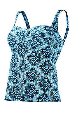 TYR SPORT Women's Diamond Valley Twist-Front Tankini Swimsuit