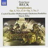Beck: Symphonies, Op. 4, Nos. 4-6