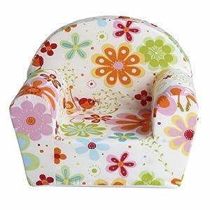 Fauteuil club enfant motifs fleurs cuisine - Amazon fauteuil enfant ...
