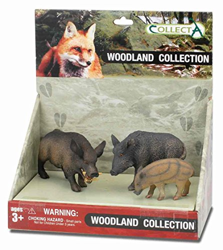 CollectA Woodland Figure Set (3-Piece), Set 3
