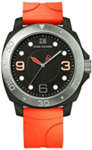 Boss Orange Gents Rubber Strap Watch 1512665