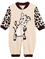 Cute Newborn Girls Boys Cartoon Clothes Baby Outfit Infant Romper Clothes