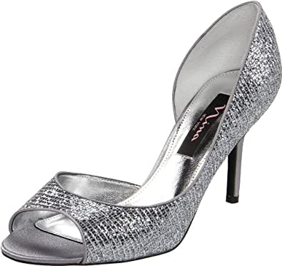 Nina Women's Fern-GM Sandal,Pewter,5.5 M US