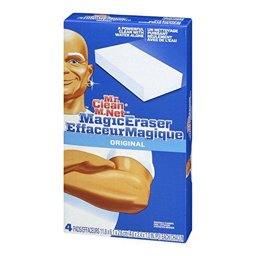 Mr. Clean 朗白先生 Magic Eraser 魔力清洁棉,4块装图片