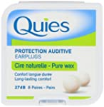Quies Boules Natural Wax Earplugs 8 P...