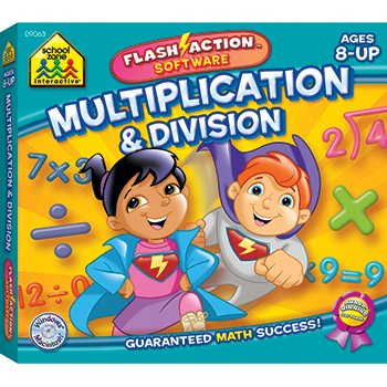 Multiplication & Division Flash Action Software; no. SZP09063