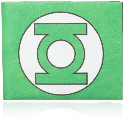 Dynomighty Men'S Green Lantern Mighty Wallet, Green/White, One Size