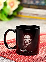 Hot Muggs Abraham Lincoln Quote Ceramic Inspirational Mug, 350ml