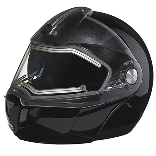 CAN AM MODULAR 2 ELECTRIC SE SNOWMOBILE HELMET BLACK MED OEM 4476520690 (Bombardier Modular Helmet Parts compare prices)