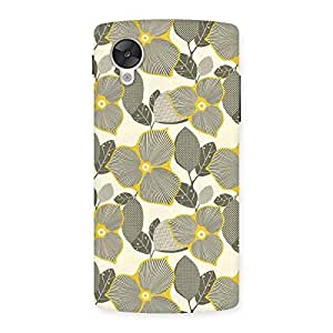 Impressive Unknown Creature Print Back Case Cover for Google Nexsus 5