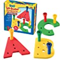 Lauri Toys Tall-stacker A-z Pegboard Set Uppercase by Patch Products