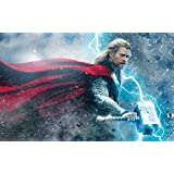 Thor The Dark World Movies ON FINE ART PAPER HD QUALITY WALLPAPER POSTER