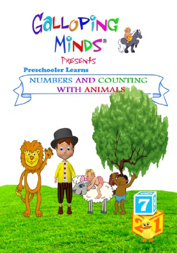Galloping Minds -Preschooler Learns Numbers and Counting with Animals, PAL [DVD]