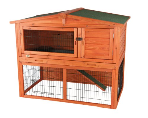 Trixie 62322 Natura Rabbit Hutch with Outdoor Enclosure 134 x 111 x 83 cm